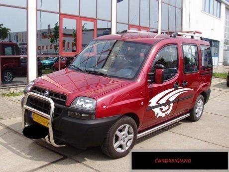 Fiat Doblo (2006-) – Shadow Line Kufanger-Lysbøyle