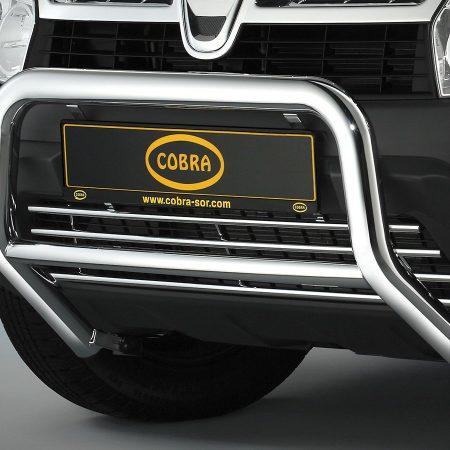 Dacia Duster (2010-) – Cobra-Sor Godkjent Kufanger-Frontbøyler