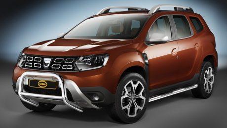 Dacia Duster (2018-) – Cobra-Sor Godkjent Kufanger-Frontbøyler