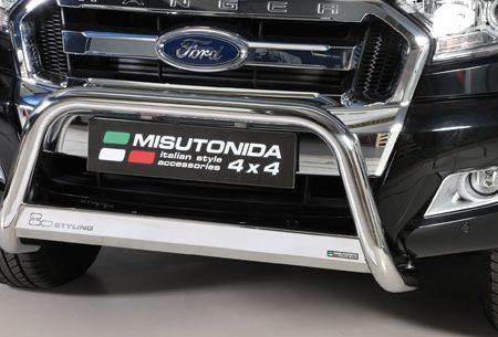 Ford Ranger Double Cab (2012-) – Misutonida 4x4 Godkjent Kufanger-Frontbøyler