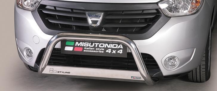 Dacia Dokker (2012-) – Misutonida 4x4 Godkjent Kufanger-Frontbøyler