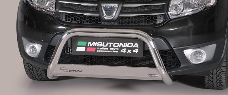 Dacia Sandero Stepway (2008-) – Misutonida 4x4 Godkjent Kufanger-Frontbøyler