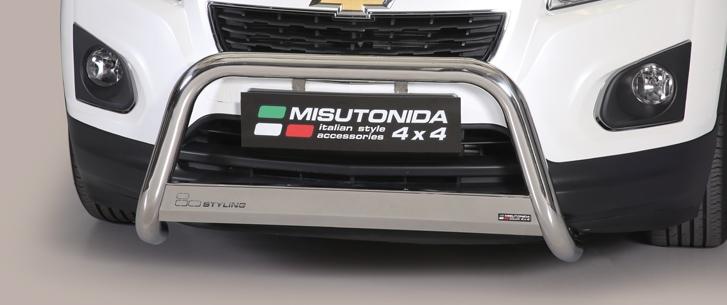 Chevrolet Trax (2013-) – Misutonida 4x4 Godkjent Kufanger-Frontbøyler