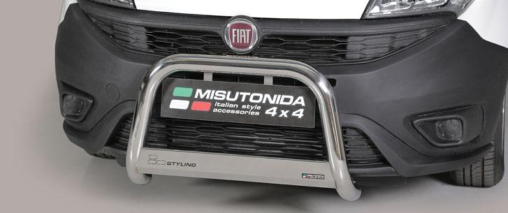 Fiat Doblo (2015-) – Misutonida 4x4 Godkjent Kufanger-Frontbøyler