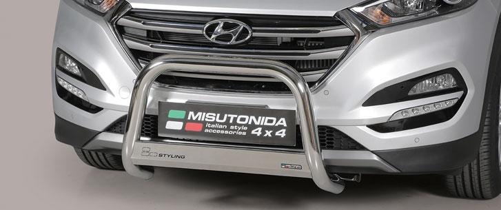 Hyundai Tucson (2015-) – Misutonida 4x4 Godkjent Kufanger-Frontbøyler