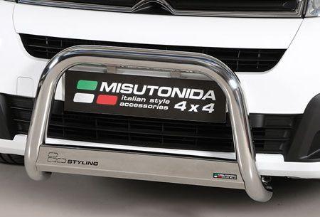 Citroën Berlingo (2015-) – Misutonida 4x4 Godkjent Kufanger-Frontbøyler