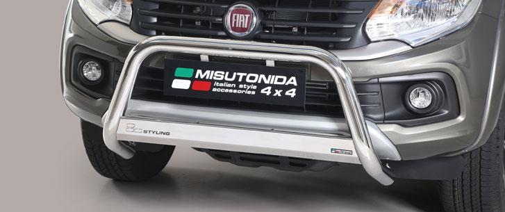Fiat Fullback (2016-) – Misutonida 4x4 Godkjent Kufanger-Frontbøyler