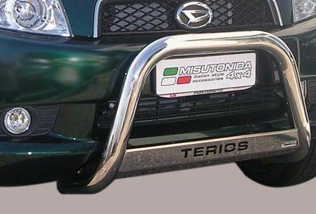 Daihatsu Terios CX (2006-) – Misutonida 4×4 Godkjent Kufanger-Frontbøyler m/Logo