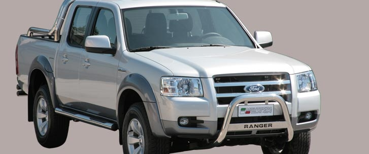 Ford Ranger (2007-) – Misutonida 4x4 Godkjent Kufanger-Frontbøyler m/Logo