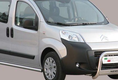 Citroën Nemo (2007-) – Misutonida 4x4 Godkjent Kufanger-Frontbøyler m/Logo