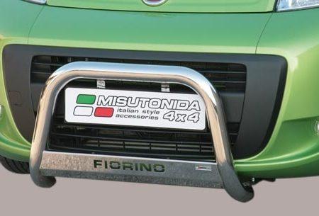 Fiat Fiorino (2008-) – Misutonida 4x4 Godkjent Kufanger-Frontbøyler m/Logo
