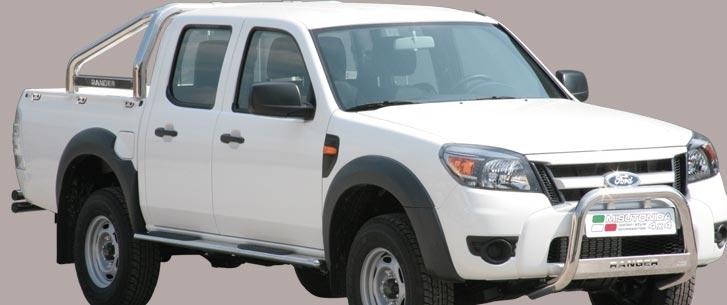 Ford Ranger (2009-) – Misutonida 4x4 Godkjent Kufanger-Frontbøyler m/Logo