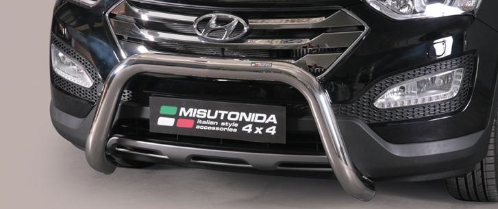 Hyundai Santa Fe (2012-) – Misutonida 4×4 Godkjent Kufanger-Frontbøyler