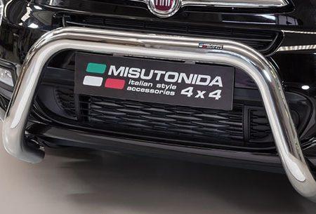Fiat 500 X (2015-) – Misutonida 4x4 Godkjent Kufanger-Frontbøyler
