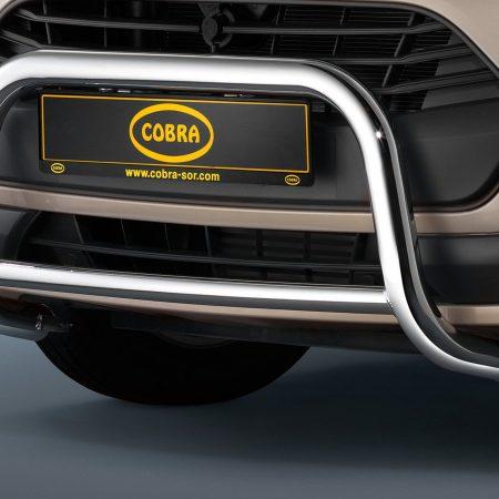 Ford Tourneo Custom (2013-) – Cobra-Sor Godkjent Kufanger-Frontbøyler