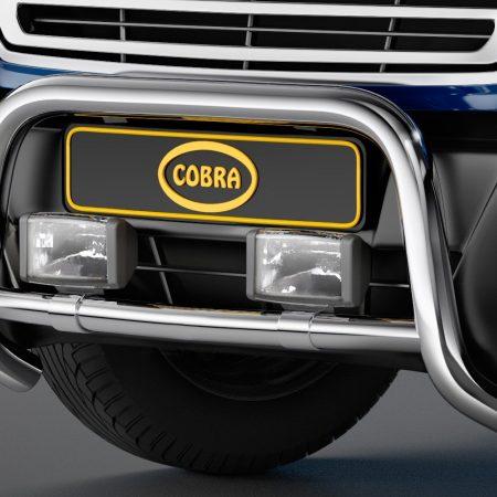 Ford Transit (2014-) – Cobra-Sor Godkjent Kufanger-Frontbøyler