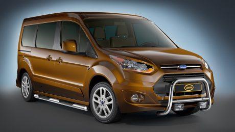 Ford Tourneo Connect (2014-) – Cobra-Sor Godkjent Kufanger-Frontbøyler