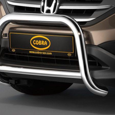 Honda CR-V (2012-) – Cobra-Sor Godkjent Kufanger-Frontbøyler