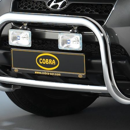 Hyundai Santa Fe (2006-) – Cobra-Sor Godkjent Kufanger-Frontbøyler