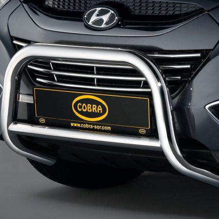 Hyundai IX35 (2010-) – Cobra-Sor Godkjent Kufanger-Frontbøyler