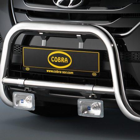Hyundai Santa Fe (2012-) – Cobra-Sor Godkjent Kufanger-Frontbøyler