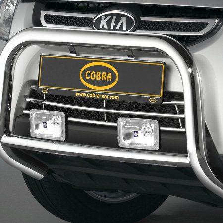 Kia Sportage (2008-) – Cobra-Sor Godkjent Kufanger-Frontbøyler