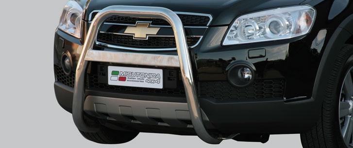 Chevrolet Captiva (2006-) – Misutonida 4×4 Kufanger-Frontbøyler
