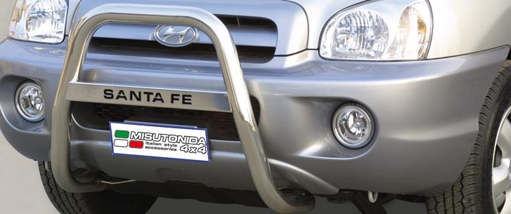 Hyundai Santa Fe (2000-) – Misutonida 4×4 Kufanger-Lysbøyle m/Logo
