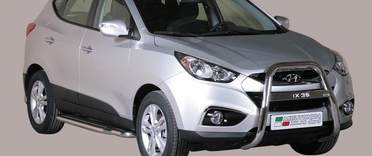 Hyundai IX35 (2010-) – Misutonida 4×4 Godkjent Kufanger-Frontbøyler
