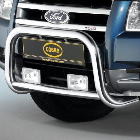 Ford Ranger (2007-) – Cobra-Sor Godkjent Kufanger-Frontbøyler