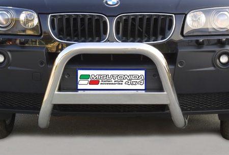 BMW X3 (2003-) – Misutonida 4x4 Godkjent Kufanger-Frontbøyler