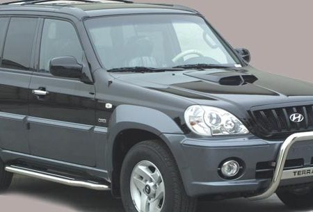 Hyundai Terracan (2001-) – Misutonida 4×4 Kufanger-Lysbøyle m/Logo