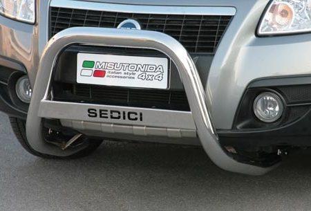 Fiat Sedici (2006-) – Misutonida 4x4 Kufanger-Frontbøyler m/Logo