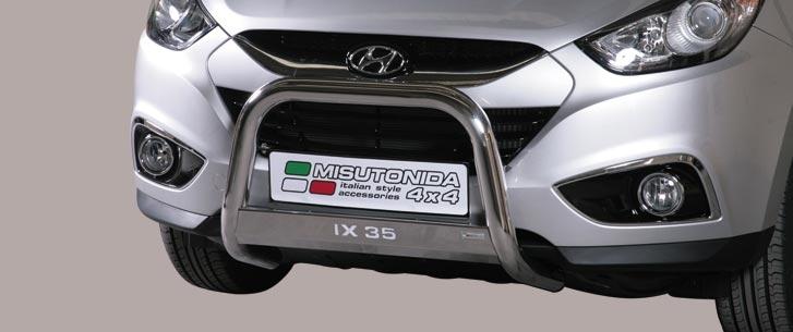 Hyundai IX35 (2010-) – Misutonida 4x4 Godkjent Kufanger-Frontbøyler m/Logo