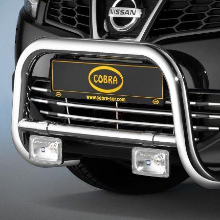 Nissan Qashqai (2010-) – Cobra-Sor Godkjent Kufanger-Frontbøyler