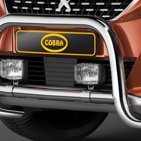 Peugeot 3008 (2016-) – Cobra-Sor Godkjent Kufanger-Frontbøyler
