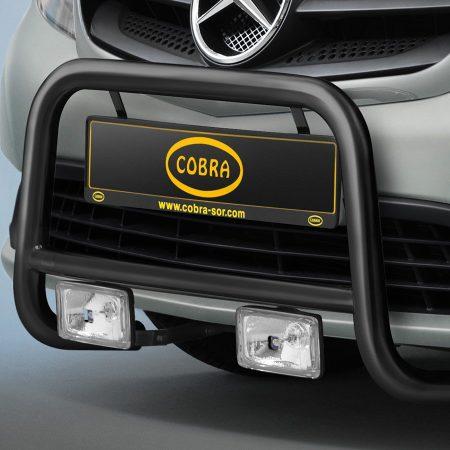 Mercedes Benz Citan (2012-) – Cobra-Sor Godkjent Kufanger-Frontbøyler