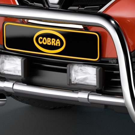 Renault Kajdar (2015-) – Cobra-Sor Godkjent Kufanger-Frontbøyler