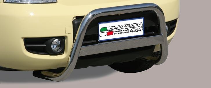 Fiat Panda 4X4 (2005-) – Misutonida 4x4 Kufanger-Frontbøyler