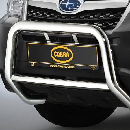 Subaru Forester (2008-) – Cobra-Sor Godkjent Kufanger-Frontbøyler