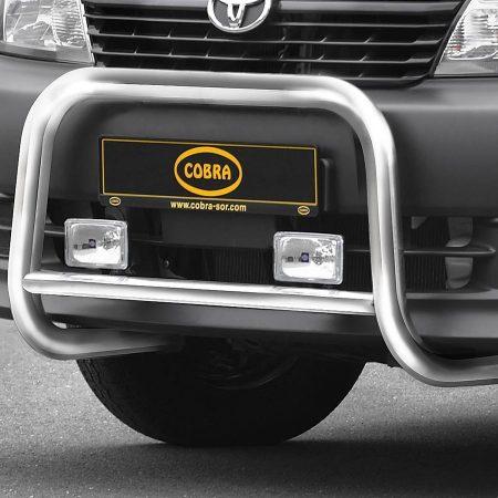 Toyota Hiace (2006-) – Cobra-Sor Godkjent Kufanger-Frontbøyler