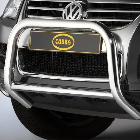 Volkswagen Touareg (2007-) – Cobra-Sor Godkjent Kufanger-Frontbøyler