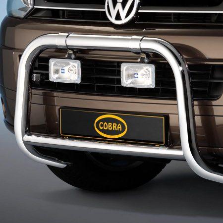 Volkswagen T5 Transport (2003-) – Cobra-Sor Godkjent Kufanger-Frontbøyler