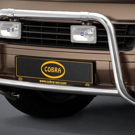 Volkswagen T5 Multivan (2003-) – Cobra-Sor Godkjent Kufanger-Frontbøyler