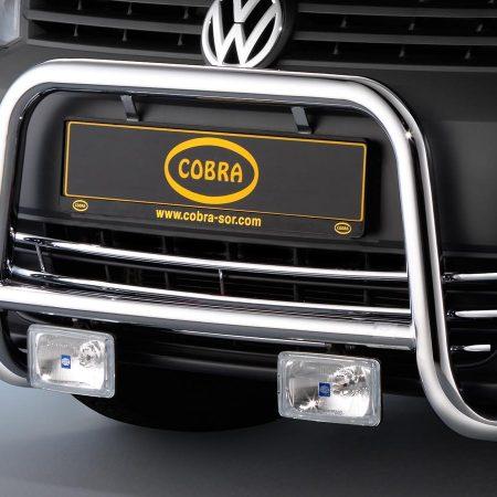 Volkswagen Caddy (2010-) – Cobra-Sor Godkjent Kufanger-Frontbøyler