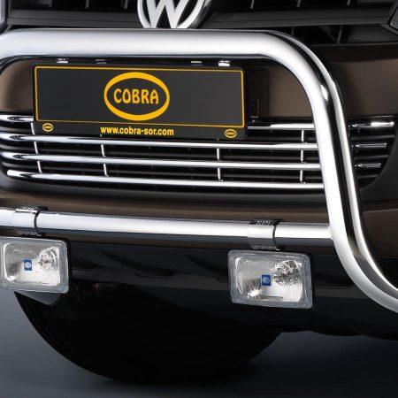Volkswagen Amarok (2010-) – Cobra-Sor Godkjent Kufanger-Frontbøyler