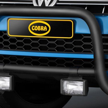 Volkswagen Amarok (2016-) – Cobra-Sor Godkjent Kufanger-Frontbøyler
