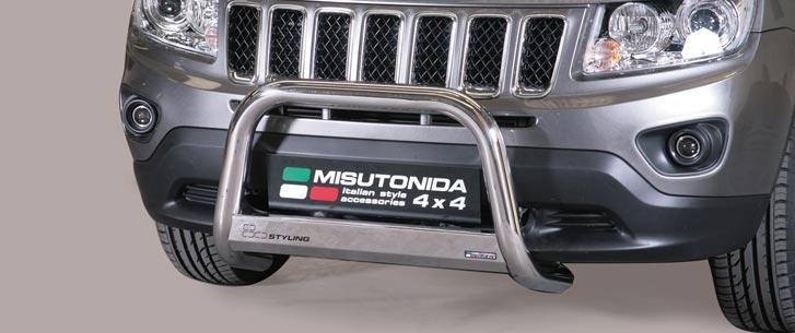 Jeep Compass (2011-) – Misutonida 4x4 Godkjent Kufanger-Frontbøyler
