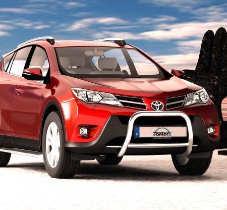 Toyota Rav4 (2013-) – Antec Godkjent Frontbøyle-Lysbøyle m/tverrør