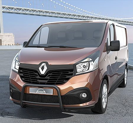 Renault Trafic (2014-) – Antec Godkjent Frontbøyle/Lysbøyle m/tverrør